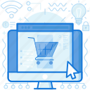 browser, monitor, screen, shop, shopping, webpage, website