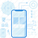 device, electronic, layout, mobile, phone, smartphone, telephone
