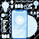 media, mobile, multimedia, phone, play, smartphone, video