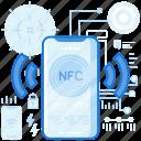 mobile, nfc, phone, sharing, smartphone, transfer, wireless