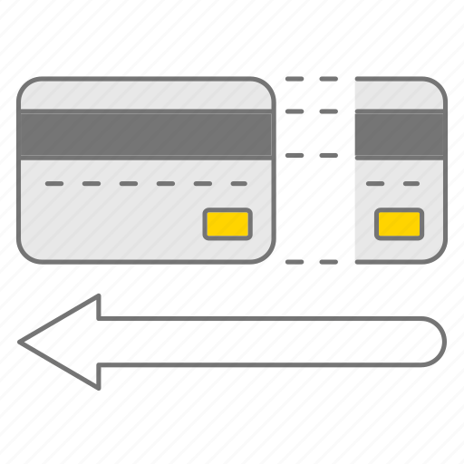 credit card, edc, payed, payment, transaction icon