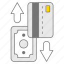 atm, payment, transaction, withdrawl icon