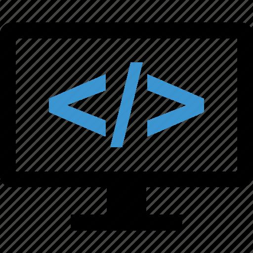code, development, internet, programming, web icon