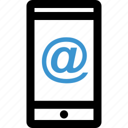 address, email, internet, mobile, sign icon
