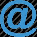 address, email, internet, sign