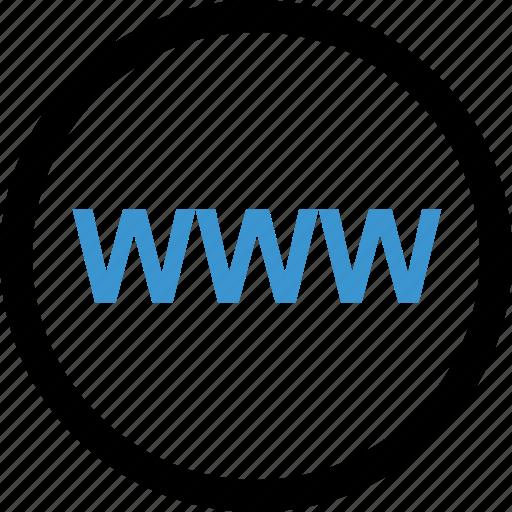 internet, online, web, www icon
