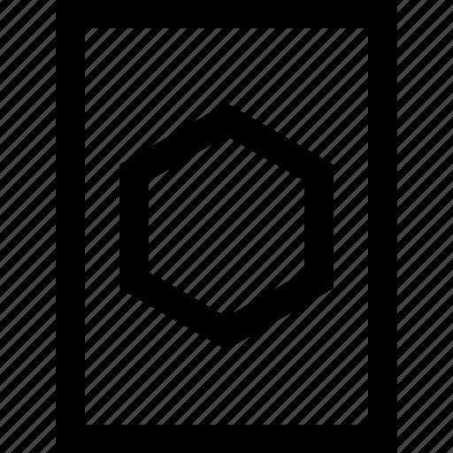 creative, hexagon, puzzle icon