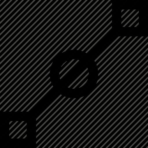 connect, design, line icon