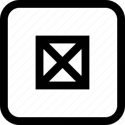 abstract, design, lines, x icon