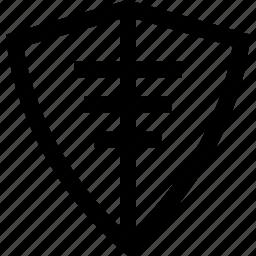 abstract, creative, safe, shield icon
