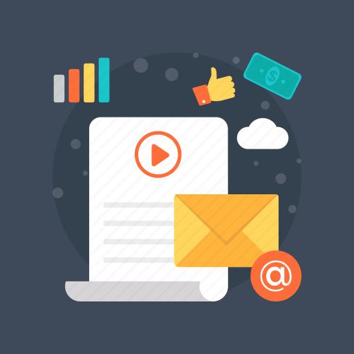 digital marketing, internet marketing, media marketing, multimedia marketing, video blogging, viral video icon