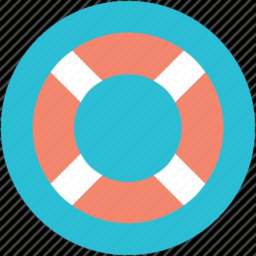 life donut, life ring, lifebuoy, lifesaver, ring buoy icon