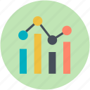 business chart, chart, data chart, finance, graph report icon