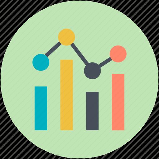 business chart, chart, data chart, finance, graph report icon