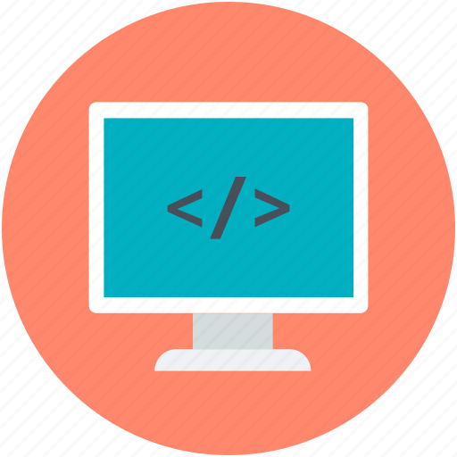 css, php, programming, source page, web development icon