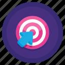 click, cursor, rate, target