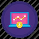 paid, analytics, graph, traffic
