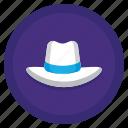 fashion, hat, man, white
