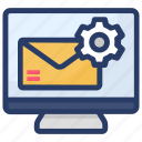 configuration, mail option, mail service, mail setting, preferences icon