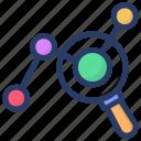 infographic, marketing analysis, statistics, trend analysis, trend monitoring, trend report icon