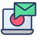 electronic mail, email notification, envelope, internet mail, mail message icon