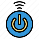 internet, off, on, power, switch, things icon