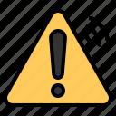 alert, danger, internet, iot, sign, things, warning