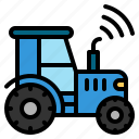 farm, garden, internet, iot, smart, things, tractor