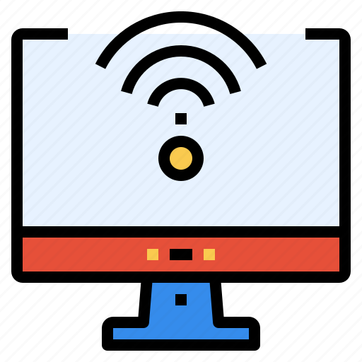 business, communication, computer, internet, online, pc, signal icon
