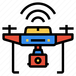 camera, drone, electronics, fly, gadget, transport, wireless icon
