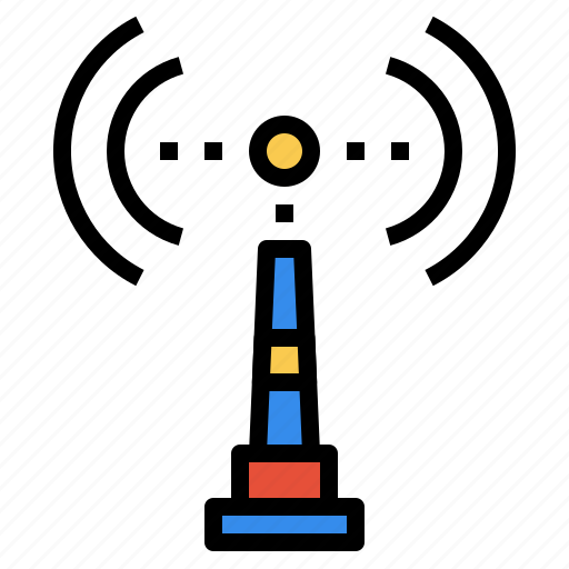 business, communication, internet, online, signal icon