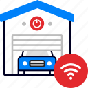 smart, wifi, garage, parking