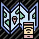 address, internet, location, map, pin, smartphone, technology