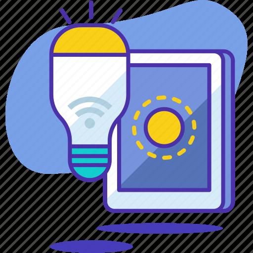 bulb, ecology, electric, energy, lamp, light, smart icon