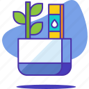 ecology, environment, garden, green, monitor, nature, plant icon