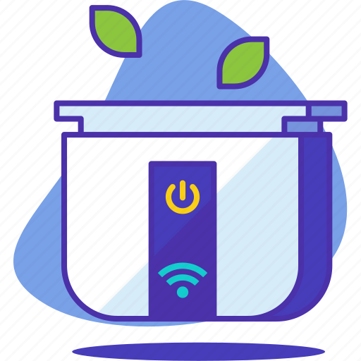 cook, cookware, device, internet, phone, smart, technology icon