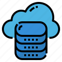 center, central, data, internet of things, storage icon