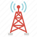 antenna, internet, internet of things, network, wifi icon