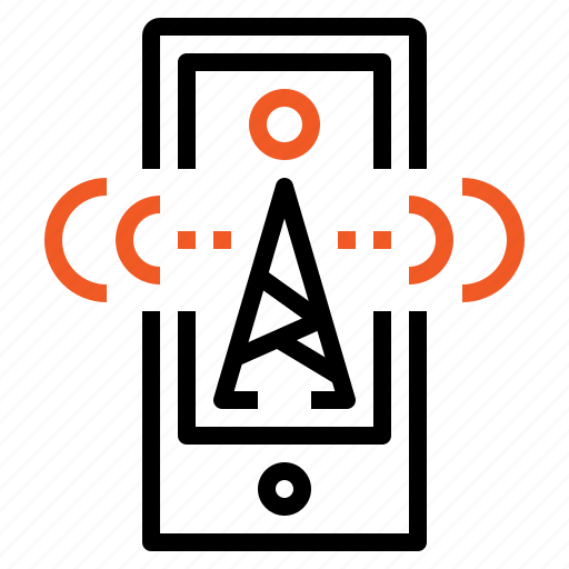 business, communication, mobile, online, phone, signal, smart icon