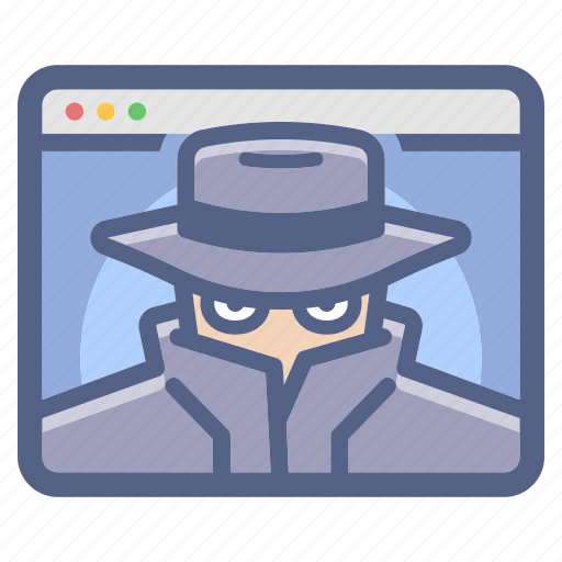 Anonymous, cyber, hacker, spy, spyware, threat icon - Download on Iconfinder