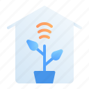 agriculture, digital, farm, home, internet of things, iot, technology icon