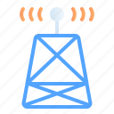 antenna, digital, internet of things, iot, satellite, signal, technology icon