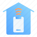 digital, home, internet of things, iot, smart house, technology, wireless icon