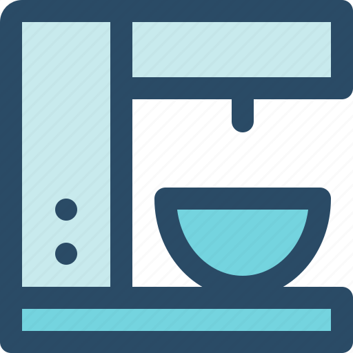 coffee, internet of things, iot, kitchen, machine, technology icon