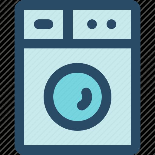 internet of things, iot, kitchen, machine, smart home, washing icon