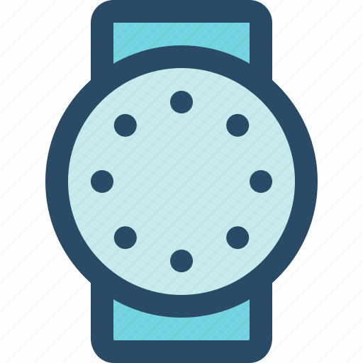internet of things, iot, round, smart watch, watch, wearables icon