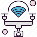drone, internet, things, wifi
