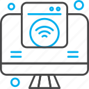 internet, lcd, things, wifi