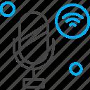 internet, mic, things, wifi