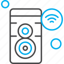internet, speaker, things, wifi